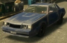gta 4 sabre rusty